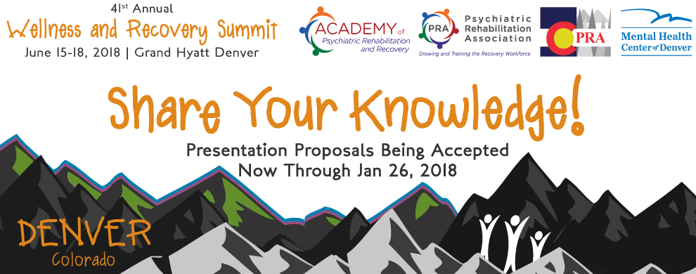 41st Annual Wellness and Recovery Summit   PRA - Psychiatric
